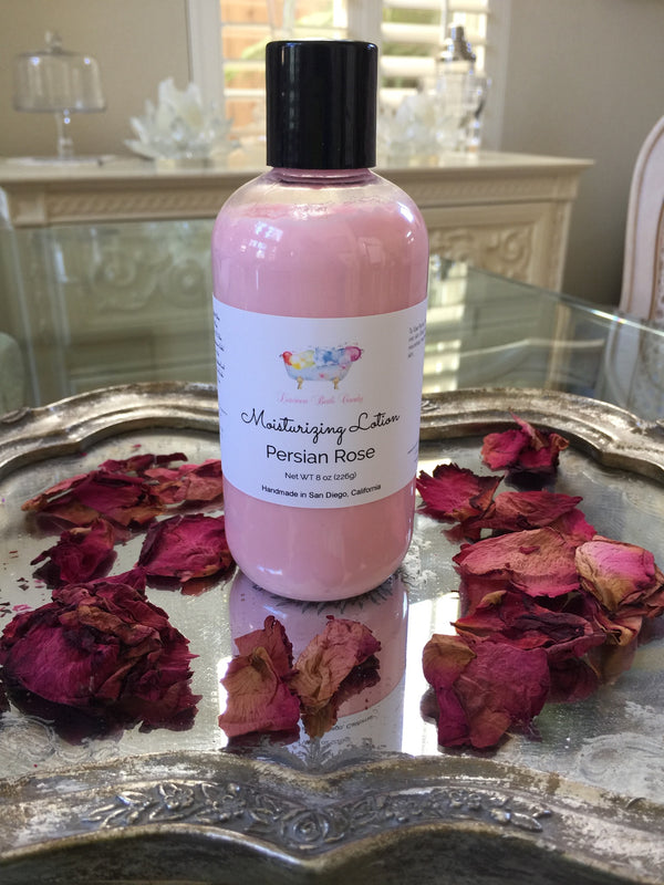 Persian Rose Shea Butter Moisturizing Lotion