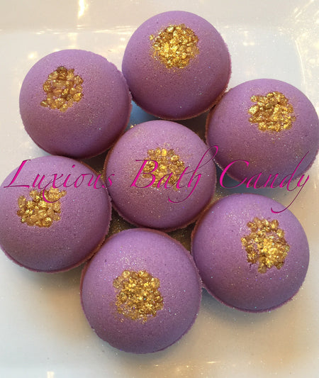 Lavender Relaxing Bath Bombs