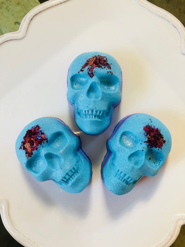 Rich Chick Skull Bath Bombs