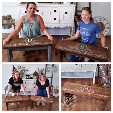 7/28/2019 (1pm) Rustic Bench Workshop (Southern Pines)