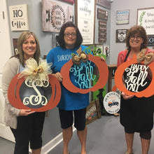 9/23/2019 (6:30pm) Pumpkin Doorhanger Workshop at Southern Pines Brewing Company (Southern Pines)