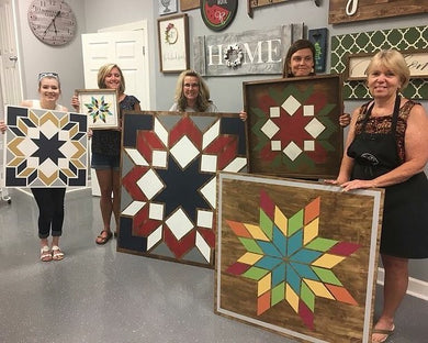 02/21/2021 (4PM) Barn Quilt Workshop (Southern Pines)
