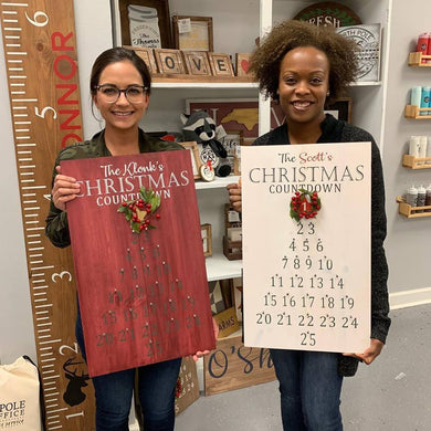 7/17/2019 (6:30pm) Christmas In July #2 Workshop (Southern Pines)