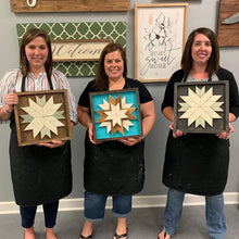 6/28/2019 (6:30pm) Barn Quilts With A Twist Workshop (Southern Pines)