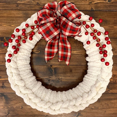 11/24/2019 (4pm) Cozy Knit Wreaths Workshop (Southern Pines)
