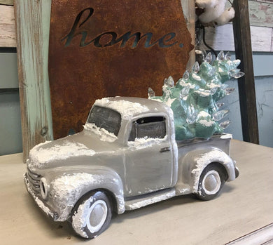 11/26/2019 (6:30pm) Ceramic Vintage Style Truck w/ Christmas Tree Workshop (Southern Pines)