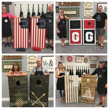 02/12/2021 (6:30PM) Cornhole Board Workshop (Southern Pines)