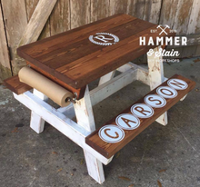 Jessica Salo--Hammer At Home Farmhouse Activity Table