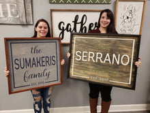 01/23/2021 (6PM) Custom Quote Framed Sign Workshop (Southern Pines)