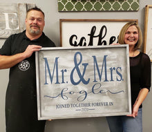03/12/2021 (6:30PM) Large Framed Sign Date Night (Southern Pines)