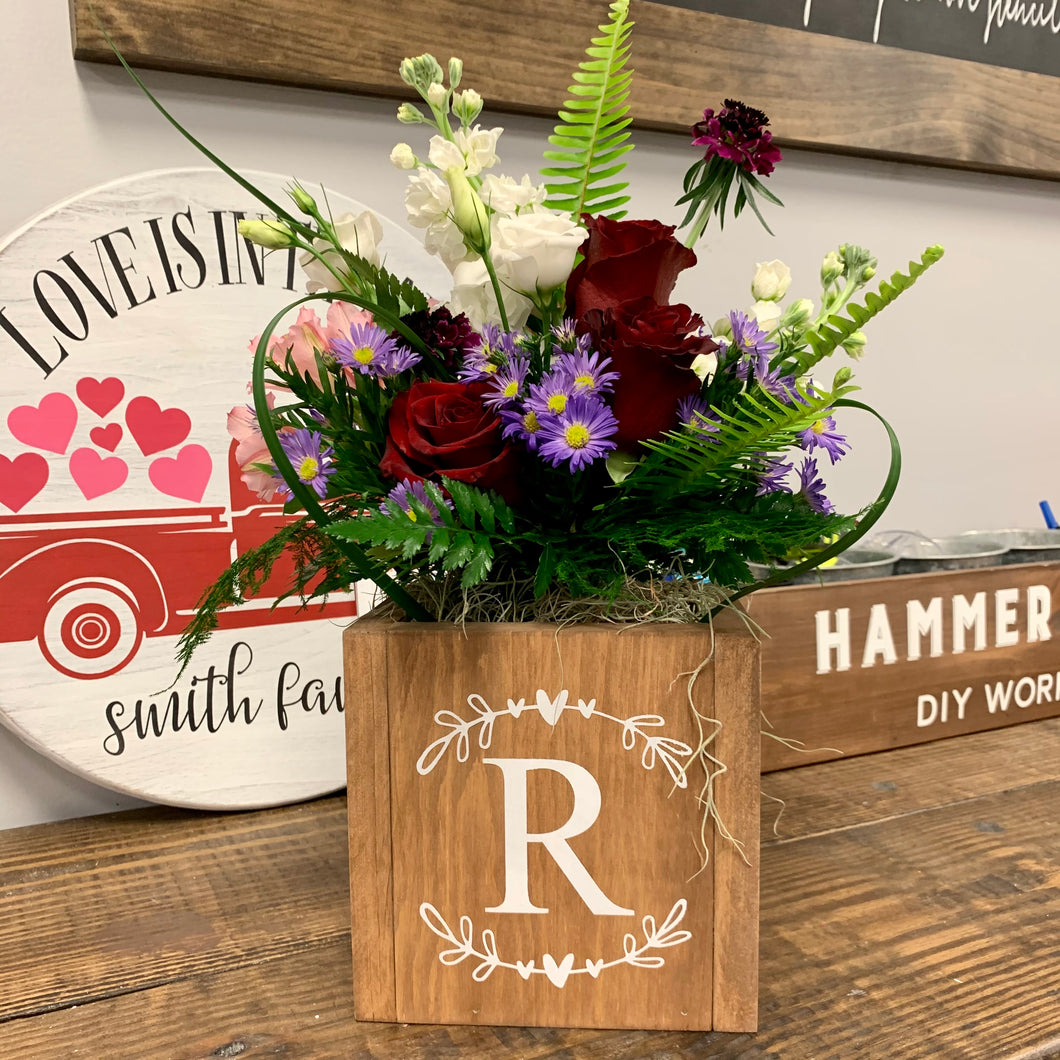 02/10/2021 (6:30PM) Flower Arranging with Jack Hadden Floral & Event (Southern Pines)