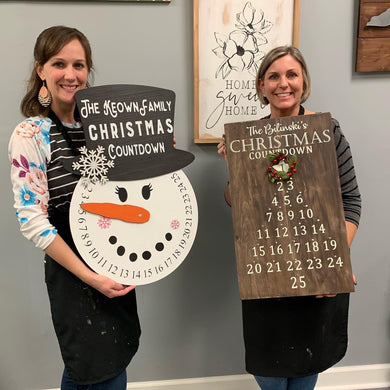 07/24/2020 (6:30PM) Christmas in July Workshop (Southern Pines)