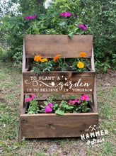 03/07/2021 (4PM) Three Tiered Planter Workshop (Southern Pines)