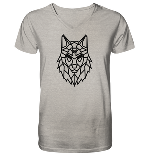 V-Neck Shirts - Alpha-Skin - V-Neck T-Shirt - Glasmates