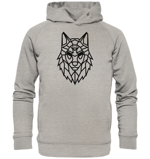 Hoodies & Sweatshirts - Hoodie - Alpha-Spirit (Black) - Glasmates