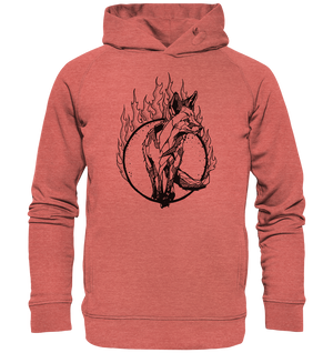 Hoodies & Sweatshirts - Ember-Hoodie - Organic Hooded Sweat - Glasmates