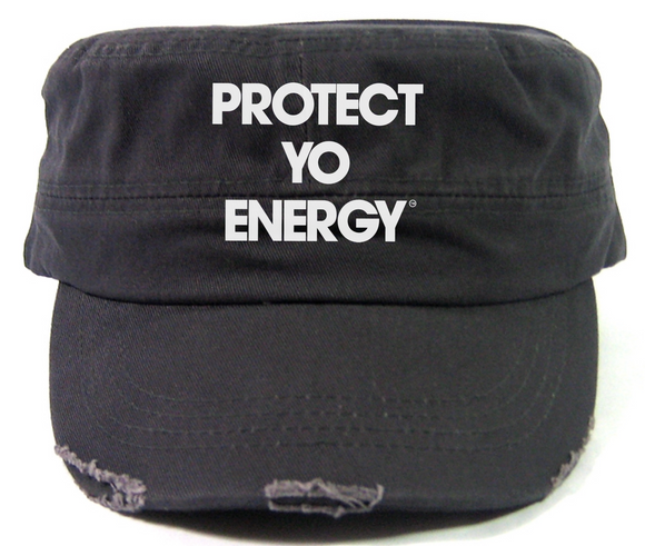 PYE Cadet Hats - PROTECT YO ENERGY #1 SELF HEALING BRAND FOR TOOLS AND SOLUTIONS