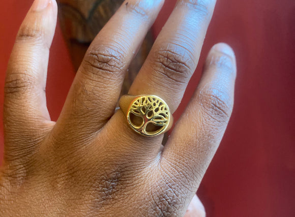Tree of Life Ring - PROTECT YO ENERGY #1 SELF HEALING BRAND FOR TOOLS AND SOLUTIONS