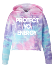PYE Tie Dye Crop Top Hoodie - PROTECT YO ENERGY