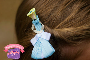Cinderella Hair Bow or Pin
