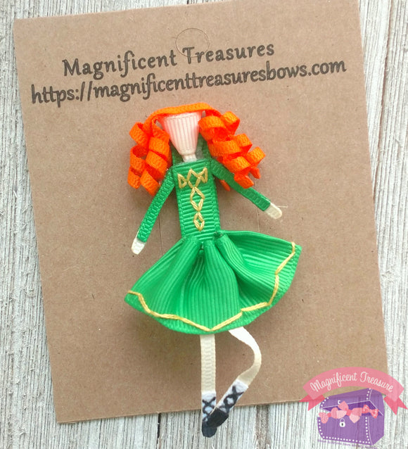 Irish Dancer Hair Clip or Pin