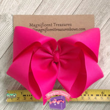 Plum 6 Inch Girl Boutique Hair Bow