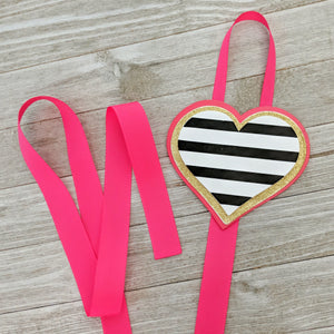 Heart Hair Bow Holder and Storage