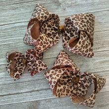 "Leopard in Love 6"" Valentine Hair Bow"