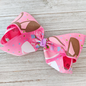 "Hippity Hoppity 7-8"" Ribbon Hair Bow"