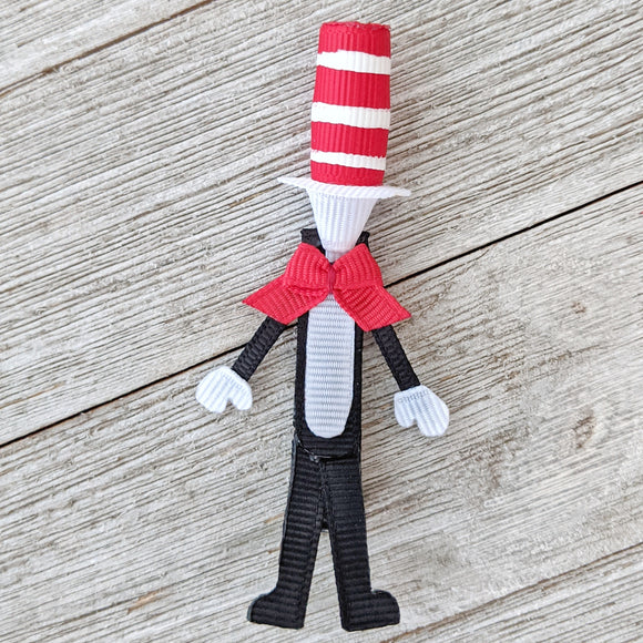 Cat in the Hat Sculpture Clip