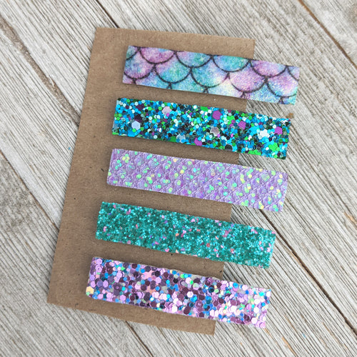 Mermaid Clippie Set
