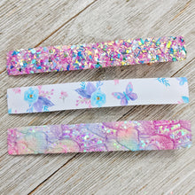 "Big 3"" Butterfly and Flower Clippie Set"