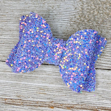 Hydrangea Glitter Bow - 2 Sizes