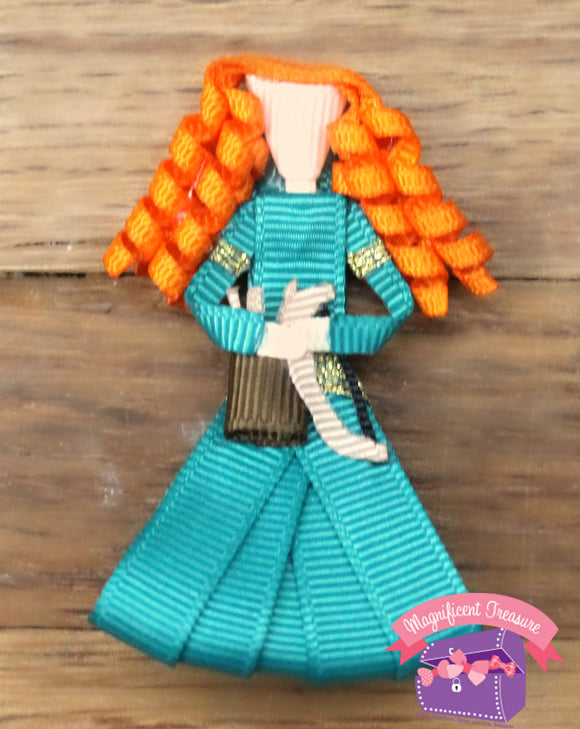 Merida From Brave Hair Bow