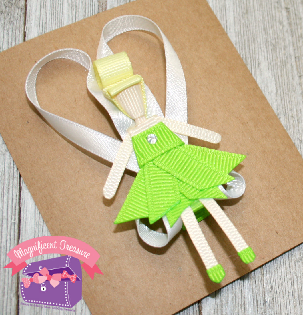 Tinkerbell Hair Clip - Magnificent Treasures
