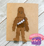 Chewbacca Hair Clip - Star War Chewie Hair Bow