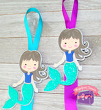 Mermaid Hair Bow Holder and Storage