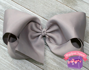 Jumbo 8 Inch Boutique Hair Bow - You Choose Color