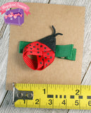 Ladybug Girls Summer Hair Bow Size