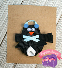 Penguin Hair Bow or Pin - Magnificent Treasures