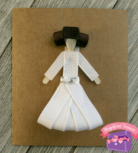 Princess Leia From Star Wars Hair Bow, Pin, or Headband Set