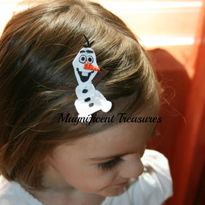Olaf Hair Clip - Magnificent Treasures