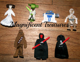 Choose a Star Wars Ribbon Sculpture Hair Clip