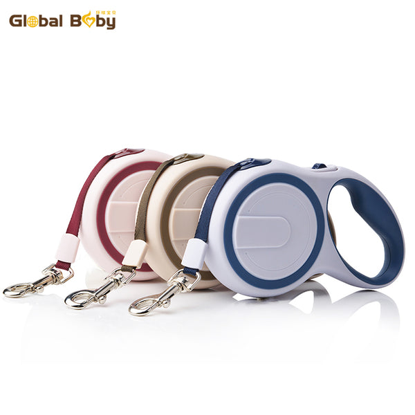 ABS High-Grade Stable Durable 3 Meter Automatic Retractable Dog Traction Rope