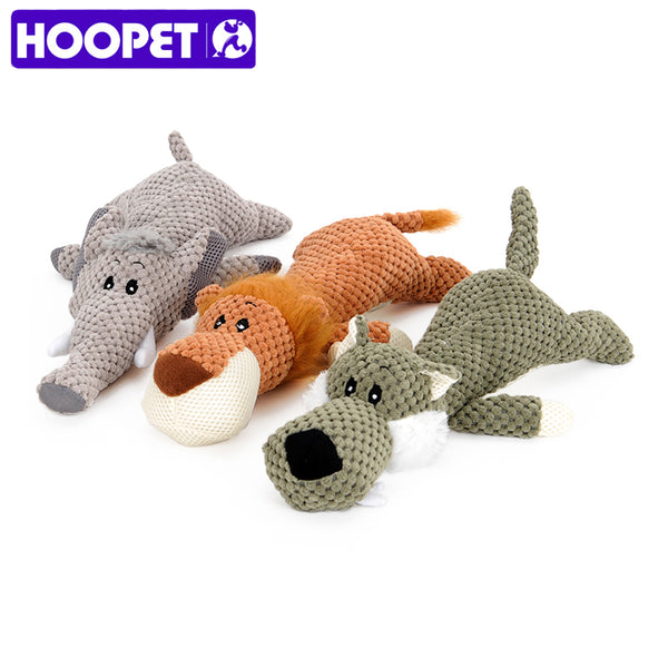 Pet Toy Animal Shape Lion Elephant
