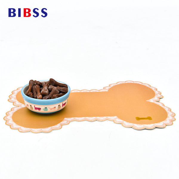 Pet Dog Cat Feeding Mat  Wipe Clean Pad