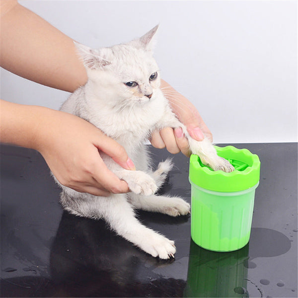 Pet Finger Foot Washer Cat
