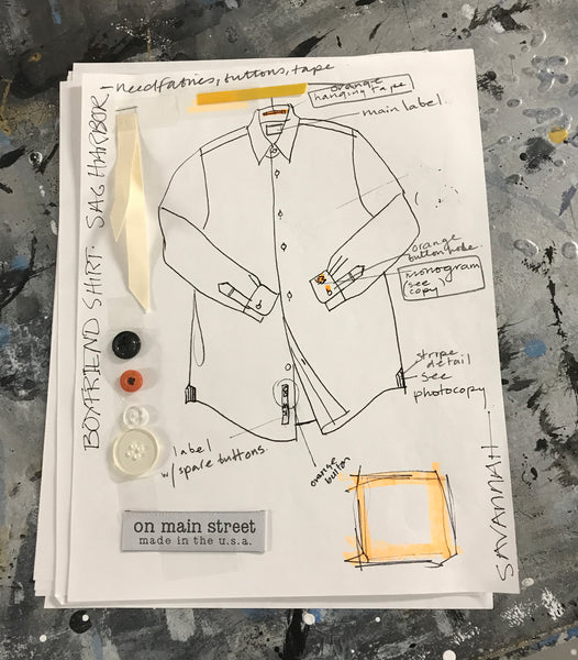 Main Street Shirt Design | Sylvester & Co. Exclusive Main Street Shirts