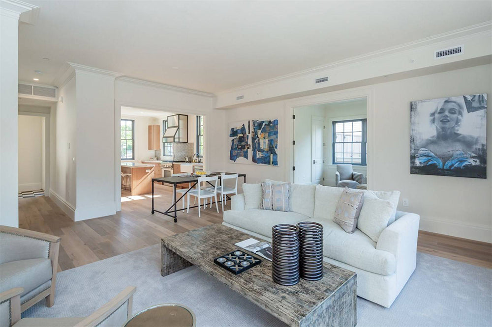 Sag Harbor Watchcase Factory | Interior Staging by Lynda Sylvester