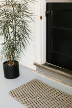 Recycled Rope Heavy Duty Doormat, Sand
